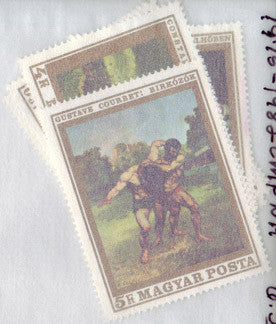 #1975-1981 Hungary - French Paintings, Set of 7 (MNH)