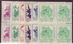 #2017-2022 Poland - Flowers (MNH)