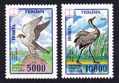 #204-205 Ukraine - Birds (MNH)
