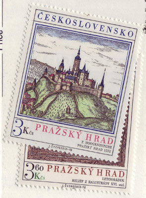 #2081-2082 Czechoslovakia - Prague Castle (MNH)