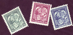 #209-211 Czechoslovakia - St. Cyril and Methodius (MLH)
