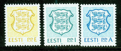 #211-213 Estonia - National Arms (MNH)