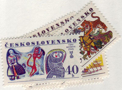 #2130-2134 Czechoslovakia - Book Illustrations (MNH)