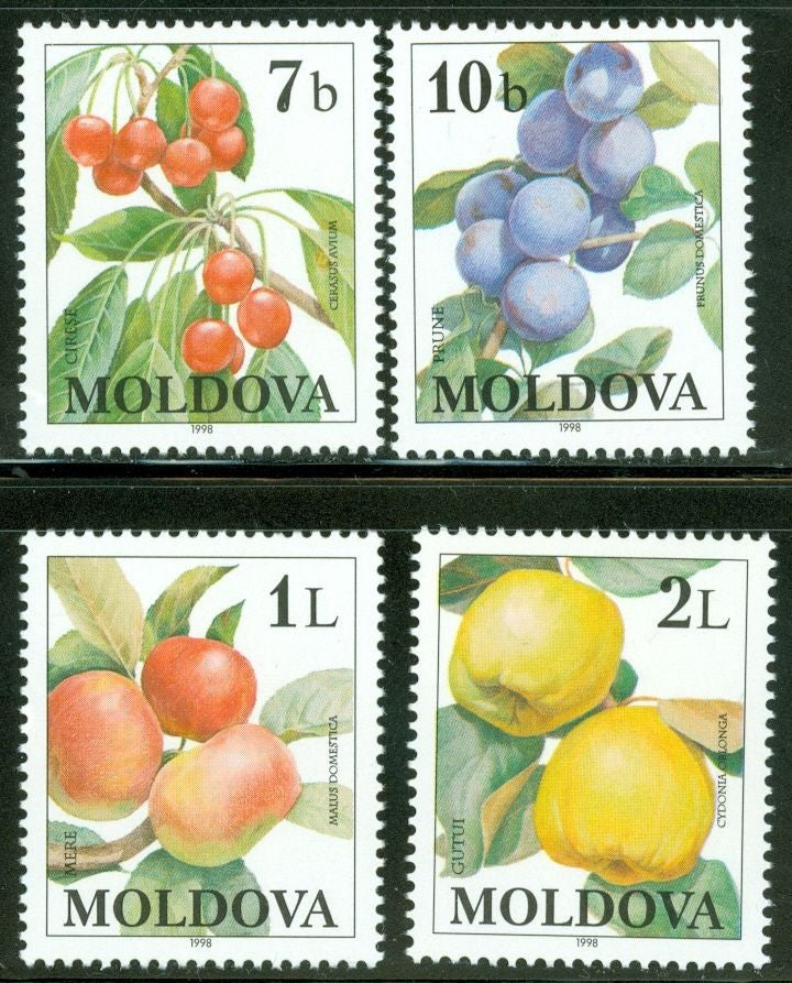 #278-281 Moldova - Fruit (MNH)