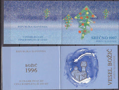 #279a-280a Slovenia - Christmas Stamps - Full Booklets (MNH)