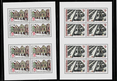 #2919-2920 Czech Republic - Architectural Sights, UNESCO M/S (MNH)