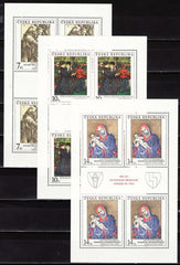 #2936-2938 Czech Republic - Art M/S (MNH)