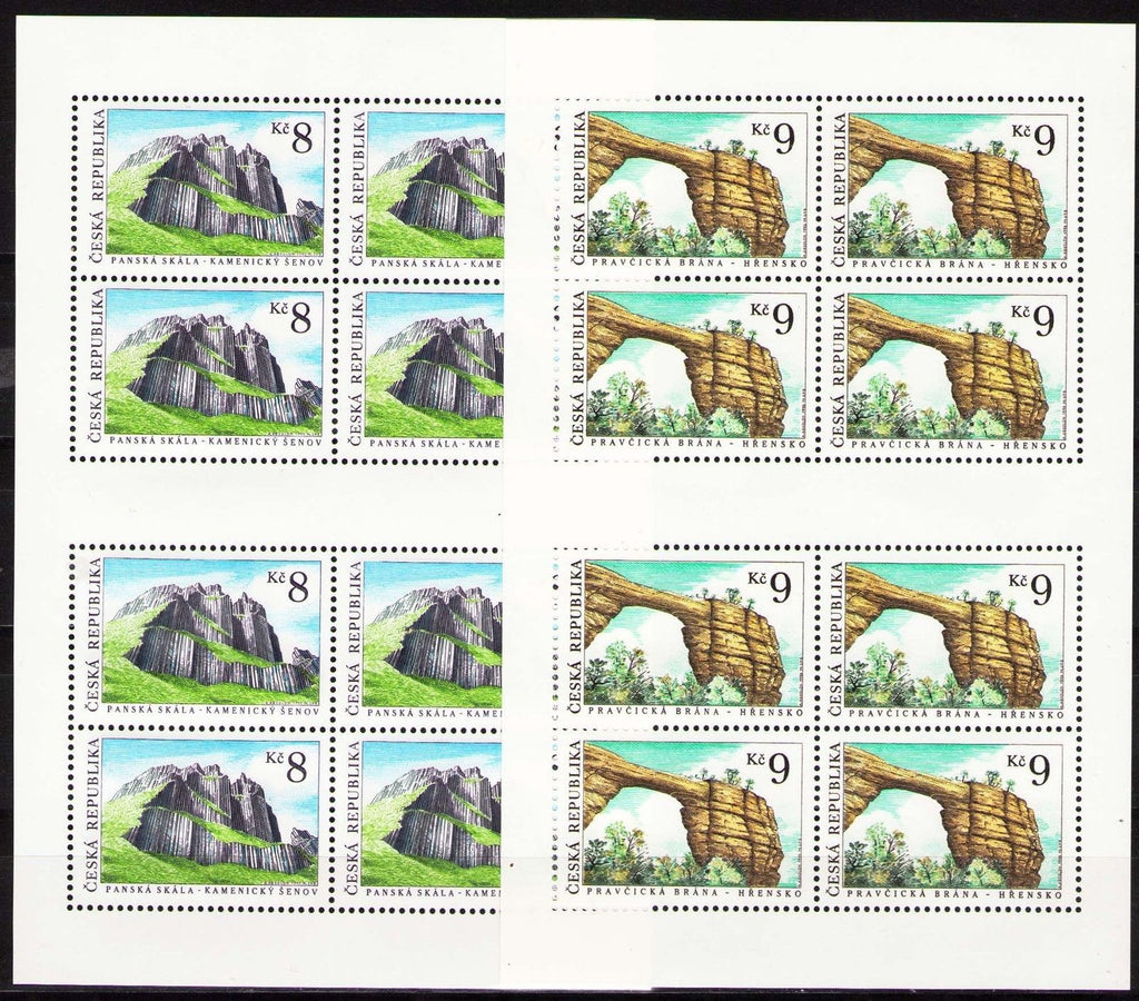 #2956-2957 Czech Republic - Natural Treasures M/S (MNH)