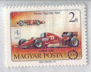 #2990-2995 Hungary - Automobile, Cent., Set of 6 (MNH)