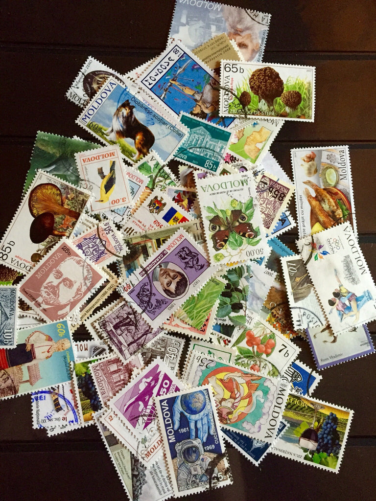 Moldova Stamp Packet (100 Different Stamps) (Used)