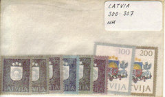 #300-307 Latvia - National Arms (MNH)