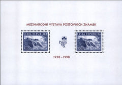 #3036 Czech Republic - Prague '98 Exhibition S/S (MNH)