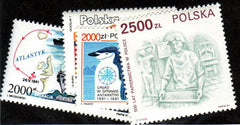 #3040-3044 Poland - Paul Paul II & Commemoratives (MNH)