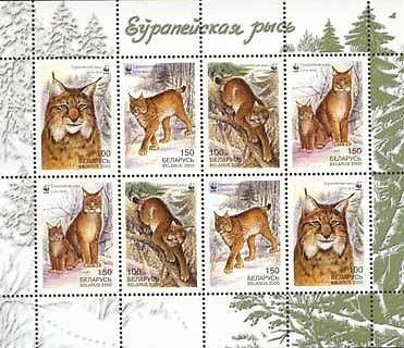 #357a Belarus - World Wildlife Fund, Sheet (MNH)