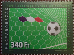 #4386 Hungary - 2016, 15th European Soccer Championships, France (MNH)