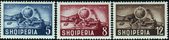 #458-460 Albania - 75th Anniversary of the UPU (MNH)