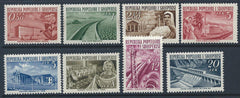 #491-498 Albania - Factories (MNH)