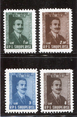 #526-529 Albania - Transfer of the ashes of Luigi Gurakuqi