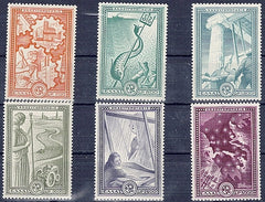 #539-544 Greece - Marshall Plan (MNH)