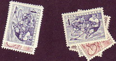 #540-543 Czechoslovakia - Physical Education Program (MNH)