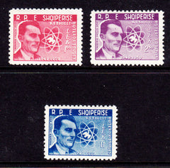 #541-543 Albania - 10th Anniversary of the Work Peace Movement (MNH)