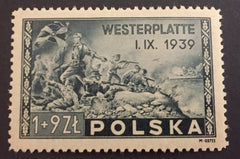 #B41 Poland - Last Stand at Westerplatte, perf. (MLH)