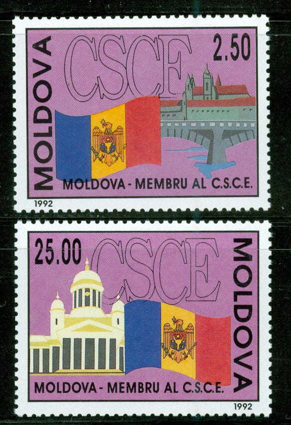 #63-64 Moldova - European Conference on Security (MNH)