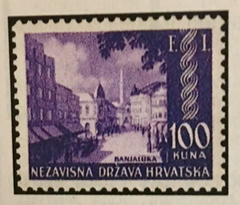 #52 Croatia - Banjaluka Philatelic Exhibition (MNH)