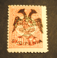 #6 Albania - First Issue (MNH)