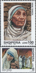 #2578-2579 Albania - Mother Teresa (MNH)