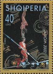 #2672-2674 Albania - 2002 Europa: Circus, Set of 3 (MNH)