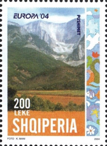 #2729-2730 Albania - 2004 Europa: Holidays, Set of 2 (MNH)