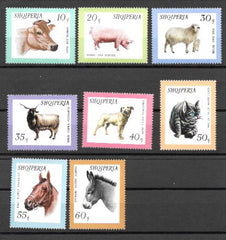 #902-909 Albania - Animals (MNH)