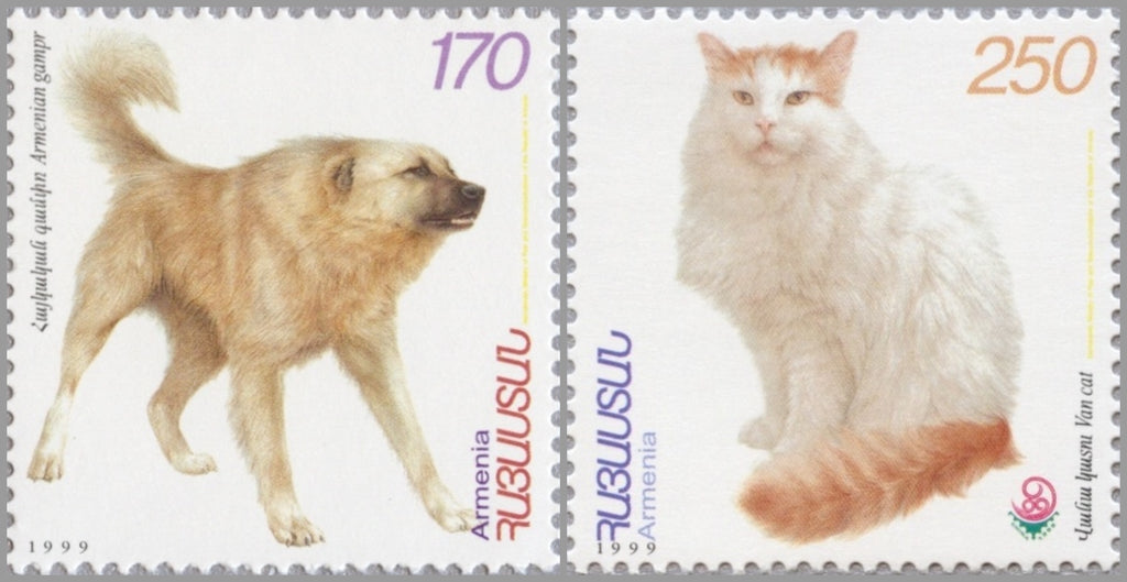 #597-598 Armenia - Domesticated Animals, Set of 2 (MNH)