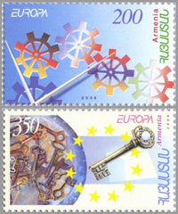 #745-746 Armenia - 2006 Europa: Integration, Set of 2 (MNH)