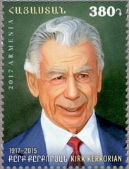 #1123 Armenia - Kirk Kerkorian, Businessman and Philanthropist (MNH)