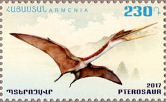 #1129-1130 Armenia - Dinosaurs, Set of 2 (MNH)