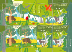 #767a Belarus - 2011 Europa: Intl. Year of Forests, Sheet of 6 (MNH)