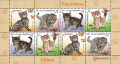 Belarus - 2017 Children's Philately: Kittens, Sheet of 8 (MNH)