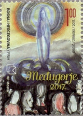 #352 Bosnia (Croat) - 2017 Medugorje, 36th Anniv. (MNH)