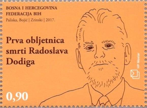 #354 Bosnia (Croat) - Radoslav Dodig (MNH)
