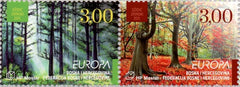 #248 Bosnia (Croat) - 2011 Europa: Intl. Year of Forests, Pair (MNH)