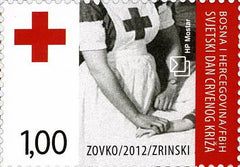 #267 Bosnia (Croat) - International Red Cross Day (MNH)
