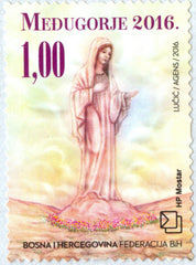 #336 Bosnia (Croat) - Apparition of the Virgin Mary at Medjugorje (MNH)