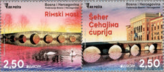 #799 Bosnia (Muslim) - 2018 Europa: Bridges, Pair (MNH)