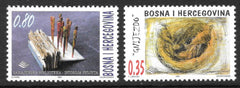 #289-290 Bosnia (Muslim) - Paintings (MNH)