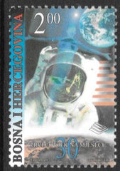 #329 Bosnia (Muslim) - First Manned Moon Landing, 30th Anniv. (MNH)