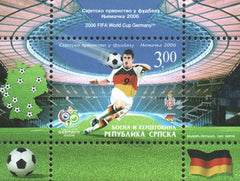 #281 Bosnia (Serb) - 2006 World Cup Soccer Championships, Germany S/S (MNH)