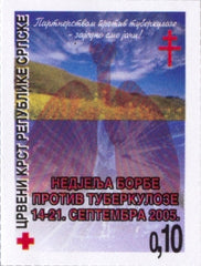 #RA17a Bosnia (Serb) - Fight Against Tuberculosis (MNH)