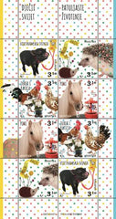 Croatia - 2020 Children's World: Pygmy Animals M/S (MNH)